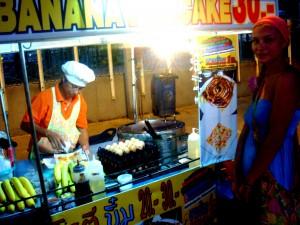 Блины с бананами как в Таиланде